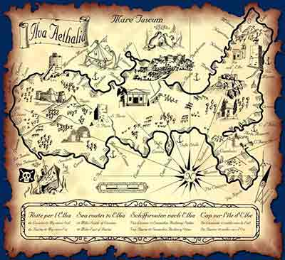Mappa del tesoro Isola d'Elba
